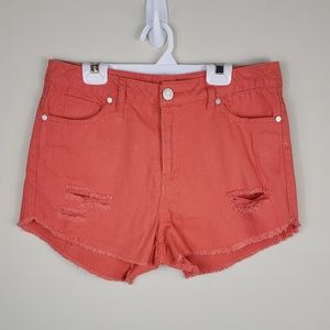 Refuge | Coral Destroyed Shorts